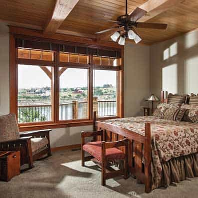 Timber Frame Bedroom 6