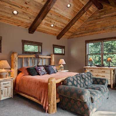 Timber Frame Bedroom 8