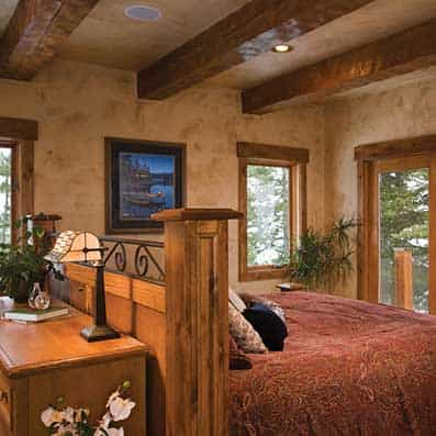 Timber Frame Bedroom 10