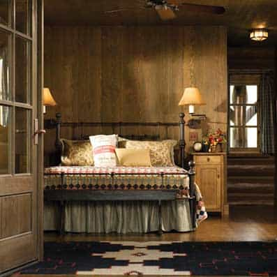 Handcrafted Log Bedroom 4