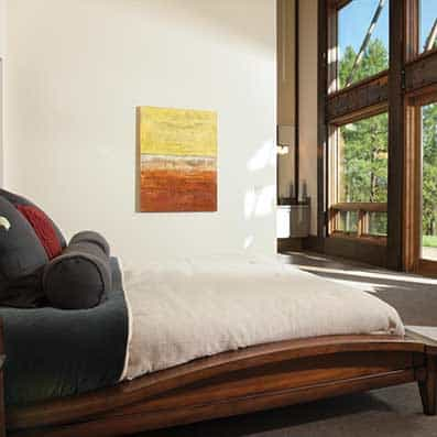 Timber Frame Bedroom 12