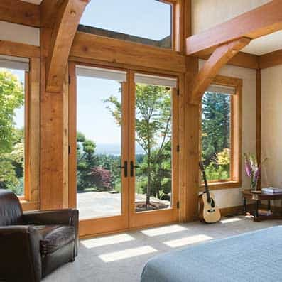 Timber Frame Bedroom 13