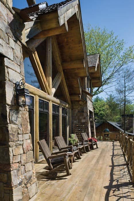 Blue Ridge Patio