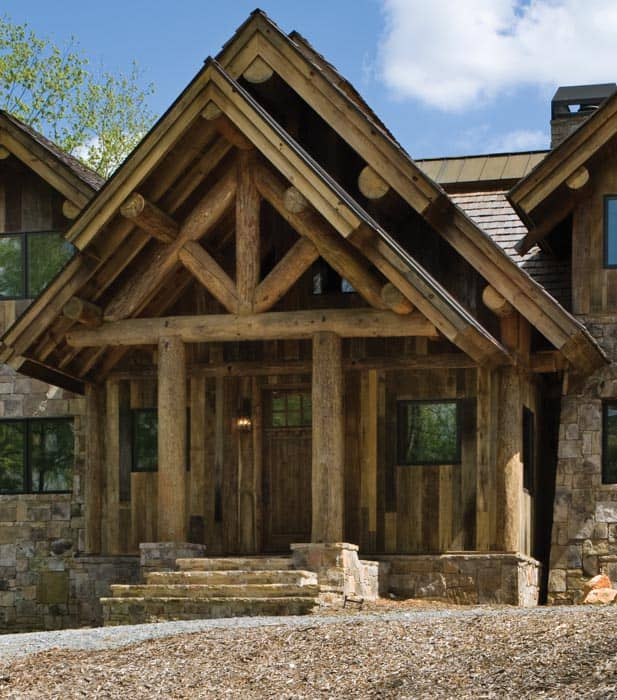 blue ridge georgia log home cabin by precisioncraft