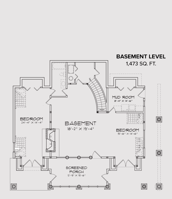 Blue Ridge Basement Floor Plan