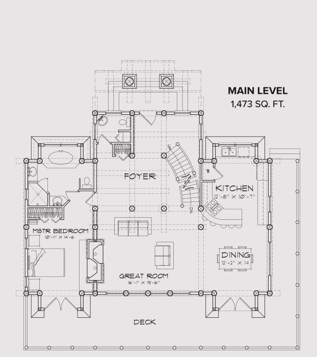 Blue Ridge Floor Plan