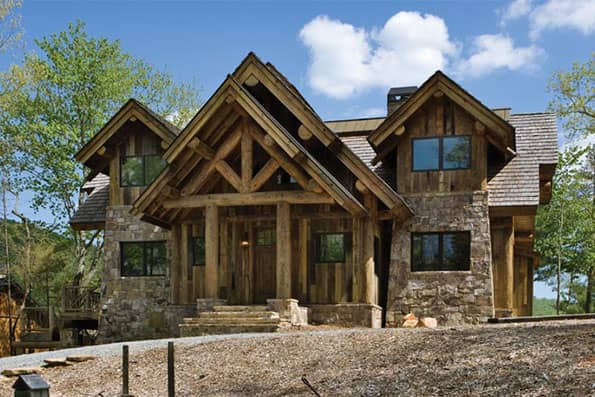 Alabama log and timber frame homes for Home builders in north alabama