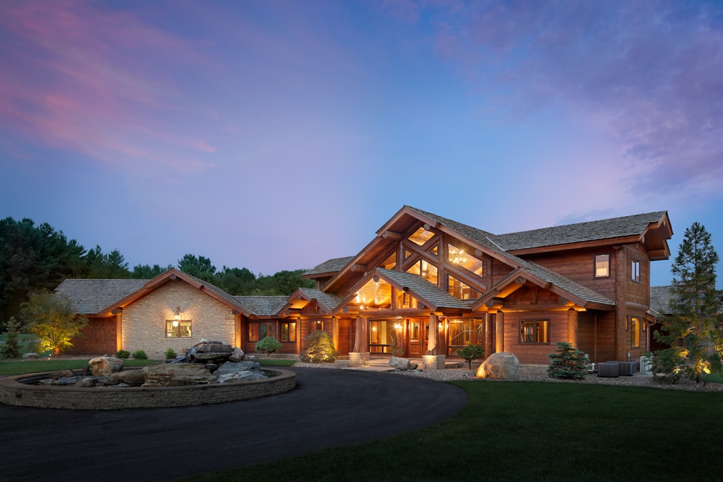 Bowling Green Kentucky Residence By Precisioncraft Log