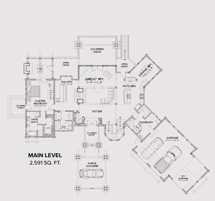 Branchville Main Floor Plan