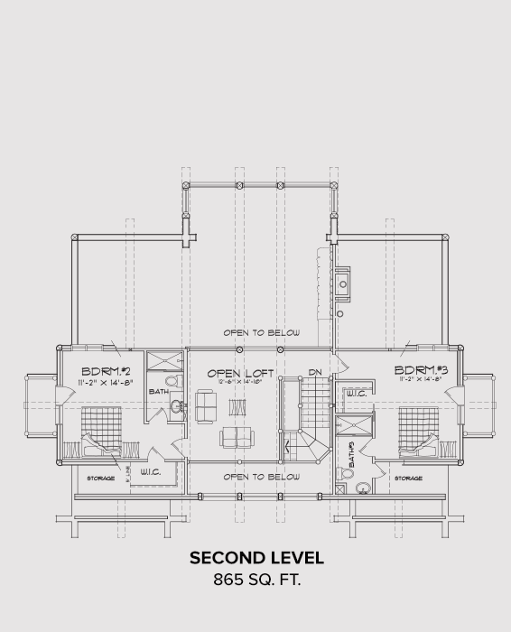 Cascade Second Floor Plan