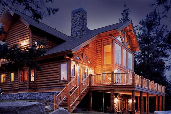 Log Home Cascade Residence