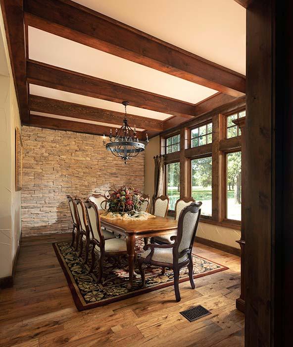 Handcrafted Log Homes. Timber Frame Kitchen · Timber Dine ...