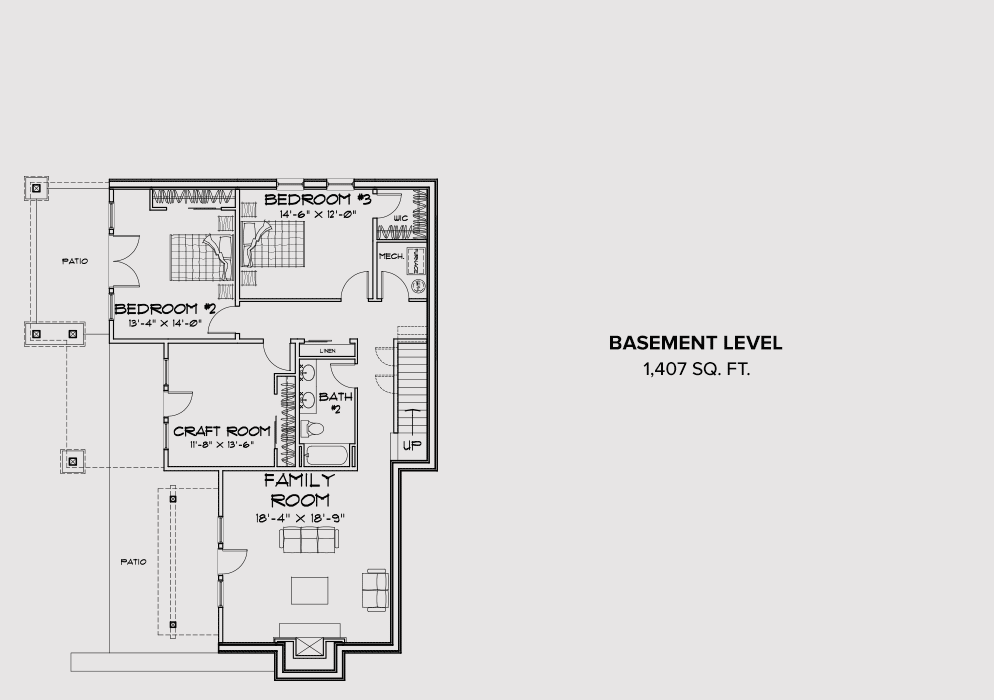 Cle Elum Base Floor Plan