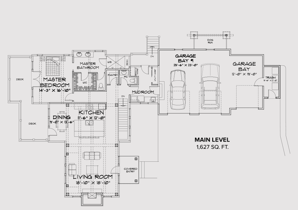 Cle Elum main floor plan