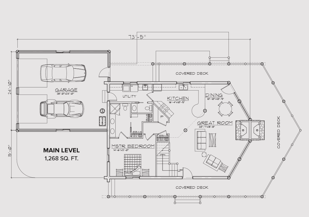 Donnelly Main Floor Plan