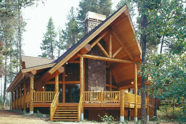 Log home Donnelly Residence