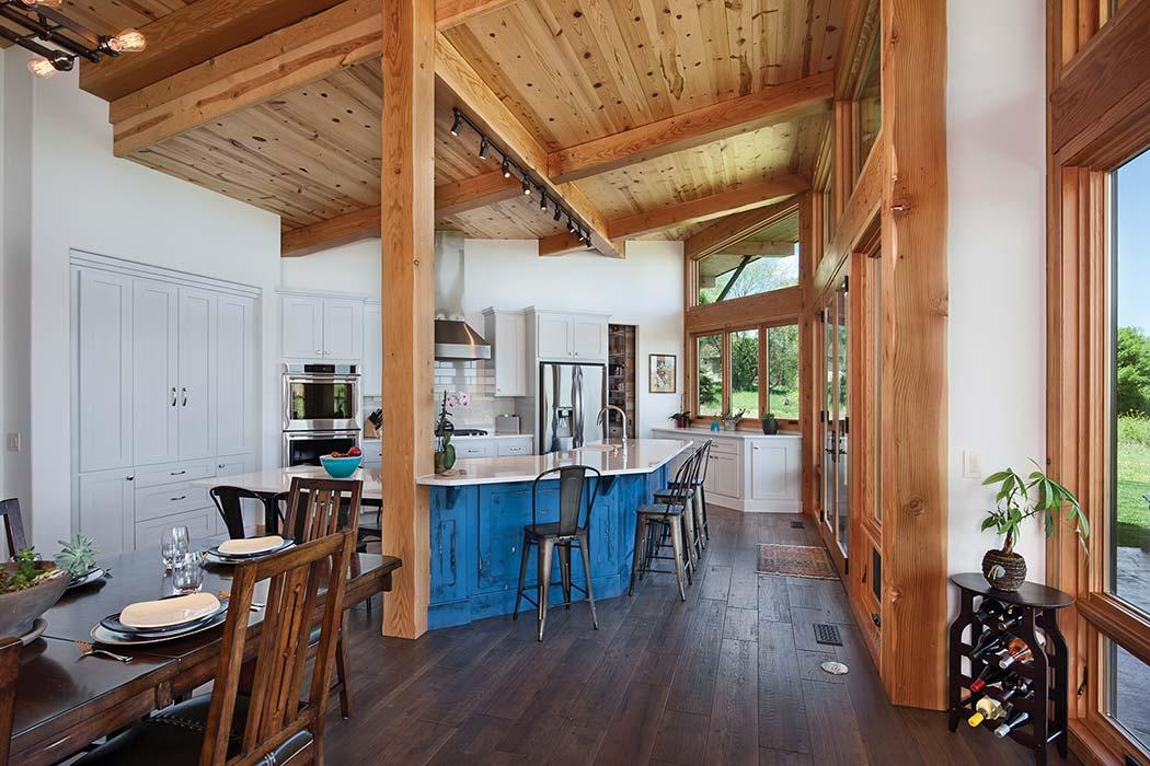 Nebraska Timber Frame Home Modern Timber Home