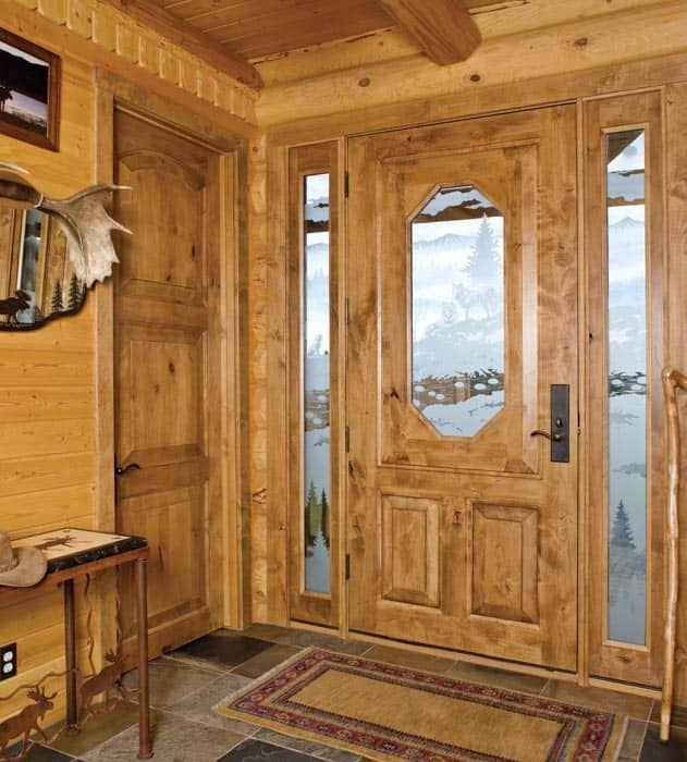 entry and foyer photo gallery log homes and timber homes