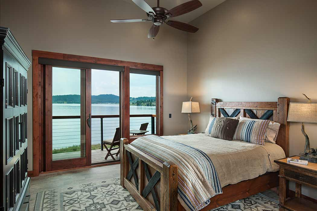 Georgetown Lake bedroom