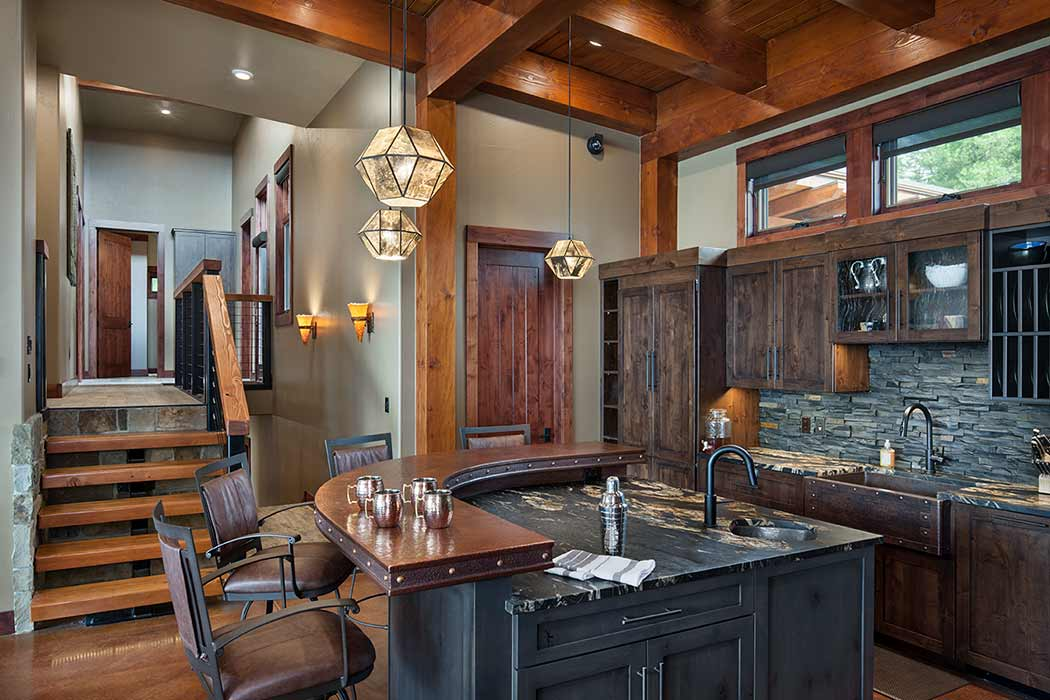 Georgetown Lake kitchen