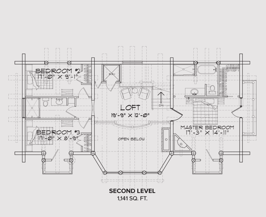 Mt Hood Second Floor Plan