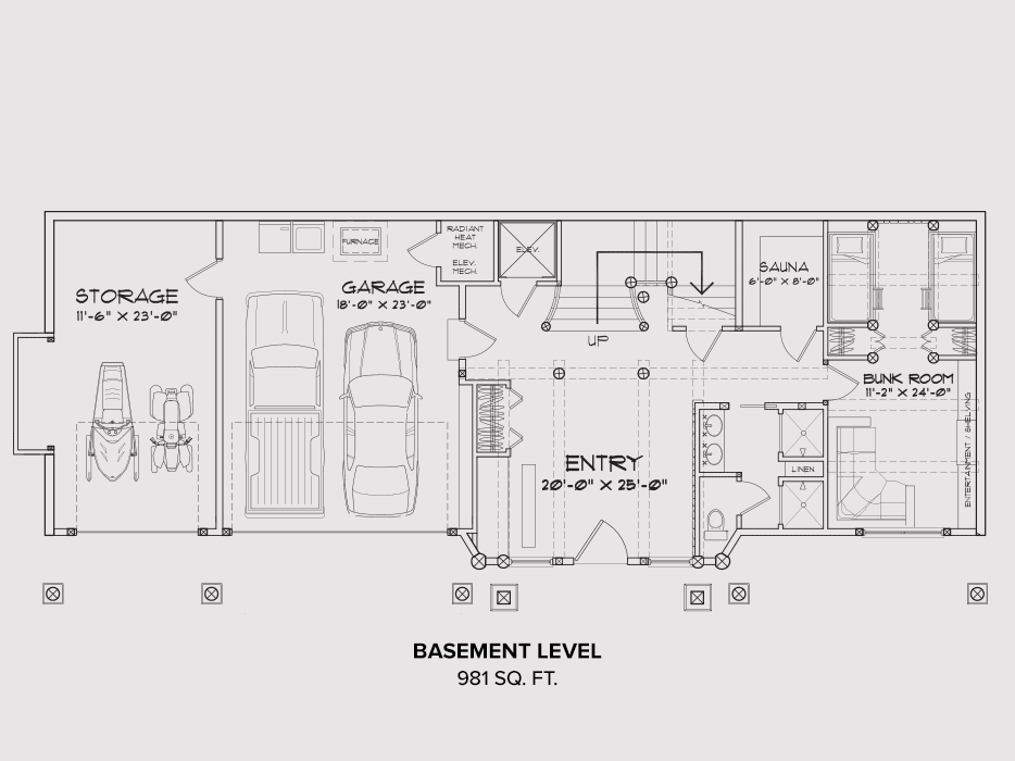 Mt Hood Basement Floor Plan