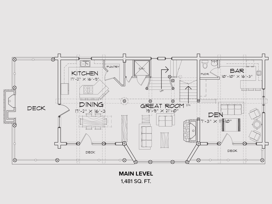 Mt Hood Main Floor Plan