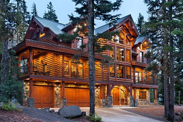Log Home Mount Hood Residence