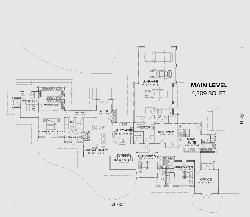 Hanh's Peak  Main Floor Plan