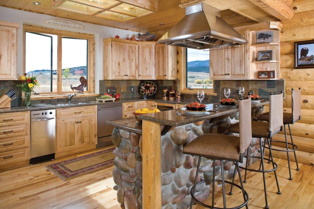 Wonderful Island Park Log Home Cabin By Precisioncraft
