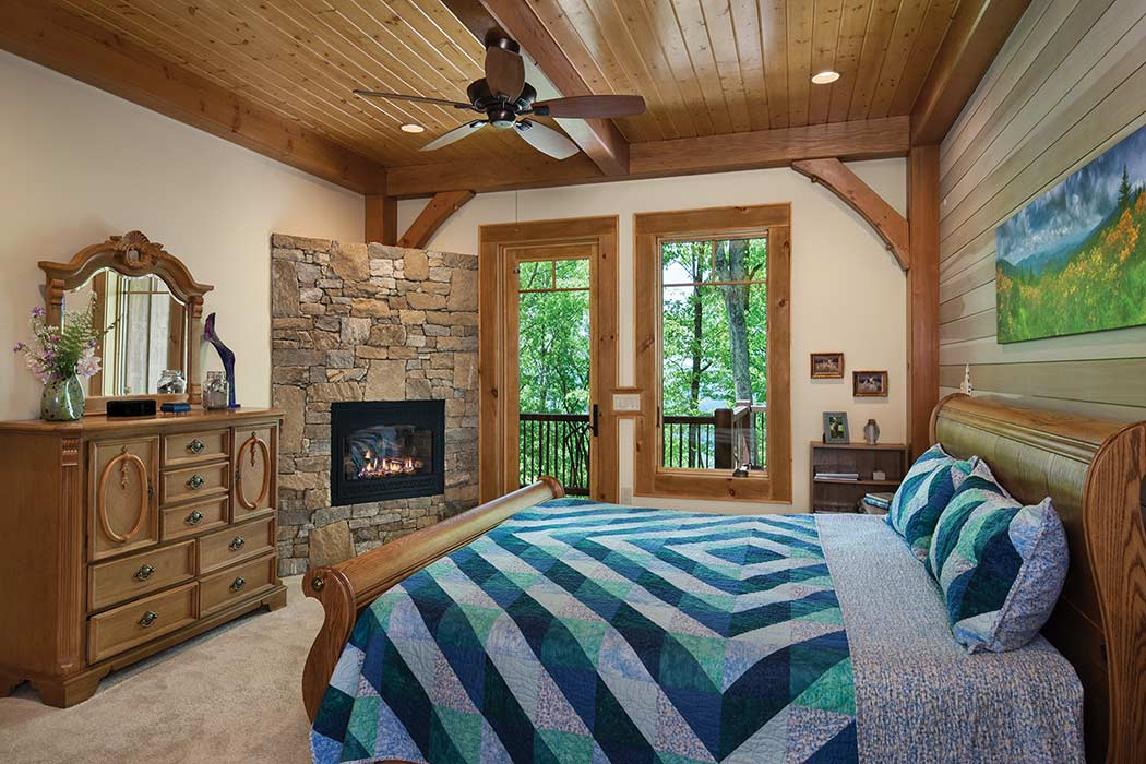 Jackson County master bedroom