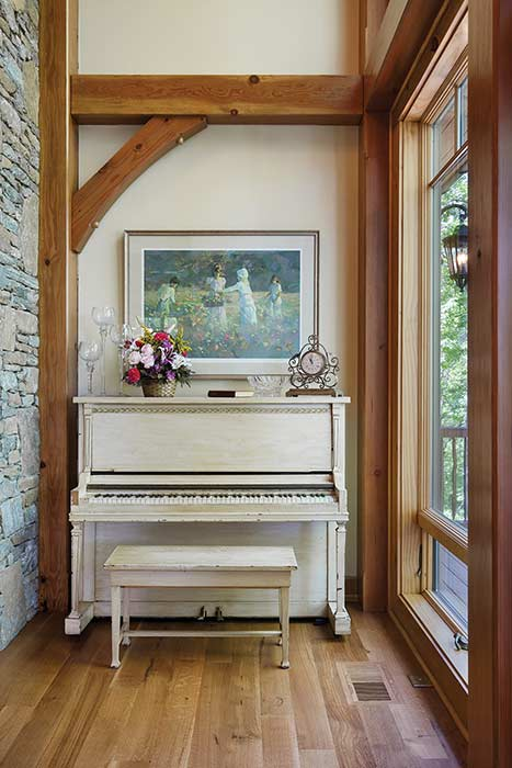 Jackson County piano nook