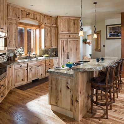 Attractive ... Timber Frame Kitchen ...