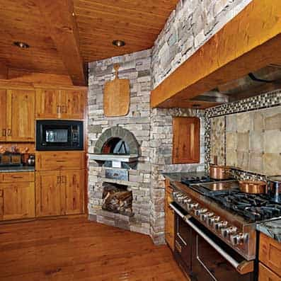 Hybrid Log and Timber Kitchen 3
