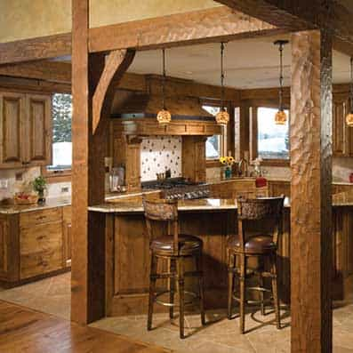 Timber Frame Kitchen 3