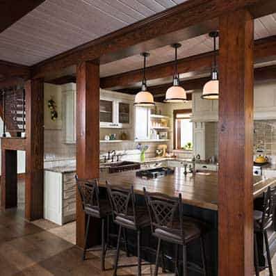 Timber Frame Kitchen 4