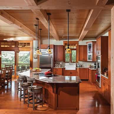 Timber Frame Kitchen 5