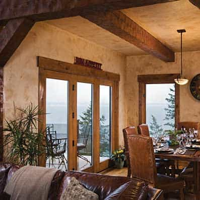 Timber Frame Dining Room 8