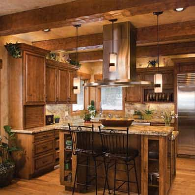Timber Frame Kitchen 8