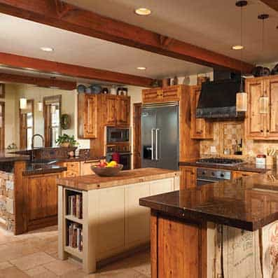 Timber Frame Kitchen 10