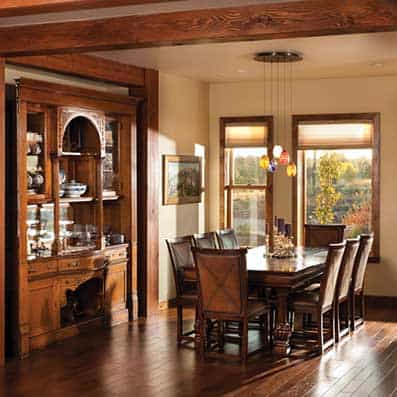Timber Frame Dining Room 10
