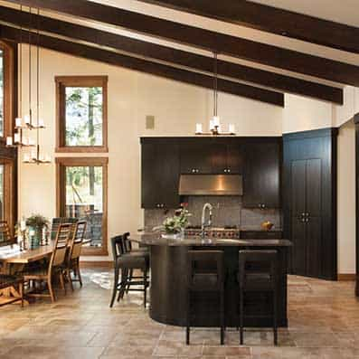 Timber Frame Kitchen Room 11