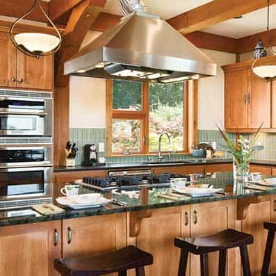 Timber Frame Kitchen 11