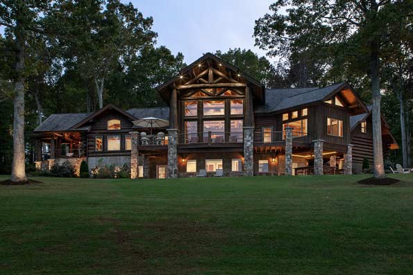 Excellence in Log Home Design