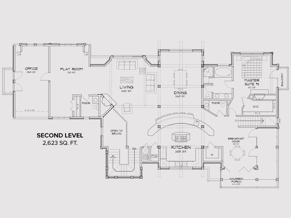 Mammoth Second Floor Plan