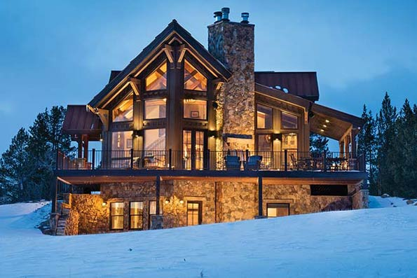 Colorado Timber Cabin Residence
