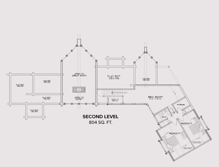 Moorfield Second Floor Plan