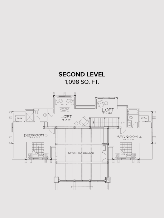 New Meadows Second FLoor Plan