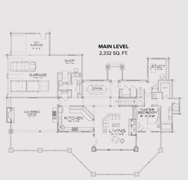 New Meadows Main Floor Plan