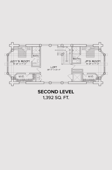 Norwood Second Floor Plan